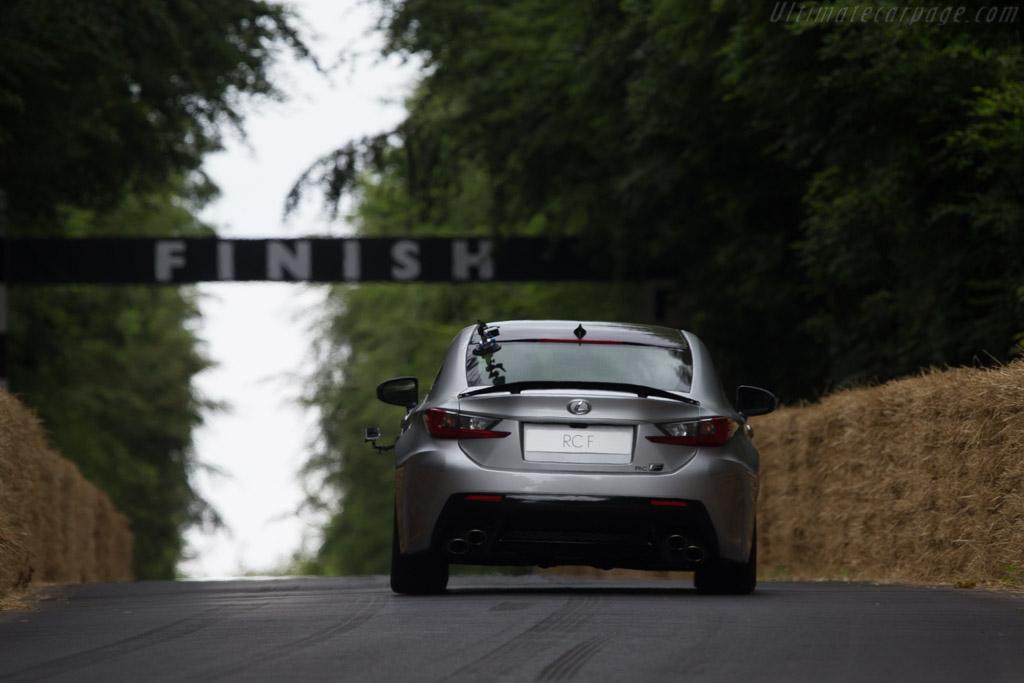 Lexus RC F    - 2014 Goodwood Festival of Speed