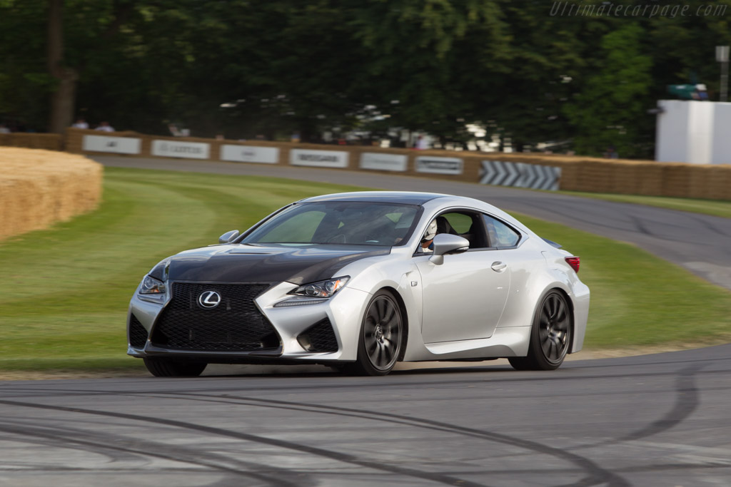 Lexus RC F    - 2014 Goodwood Festival of Speed