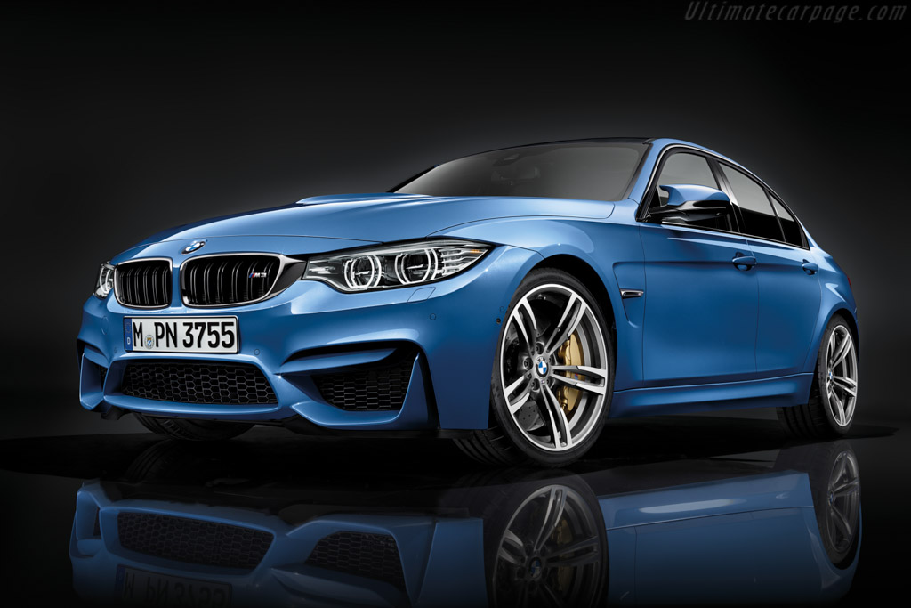 Click here to open the BMW M3 Sedan gallery