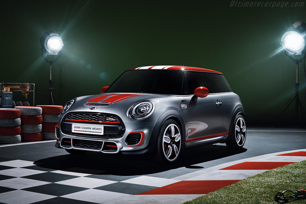 Click here to open the MINI John Cooper Works Concept gallery