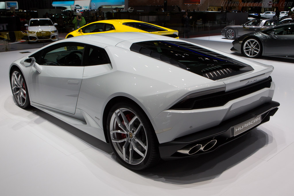 Lamborghini Hurac 225 N Lp610 4 2014 Geneva International Motor Show
