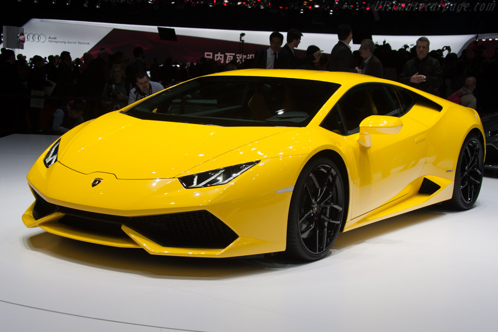 Click here to open the Lamborghini Huracán LP610-4 gallery