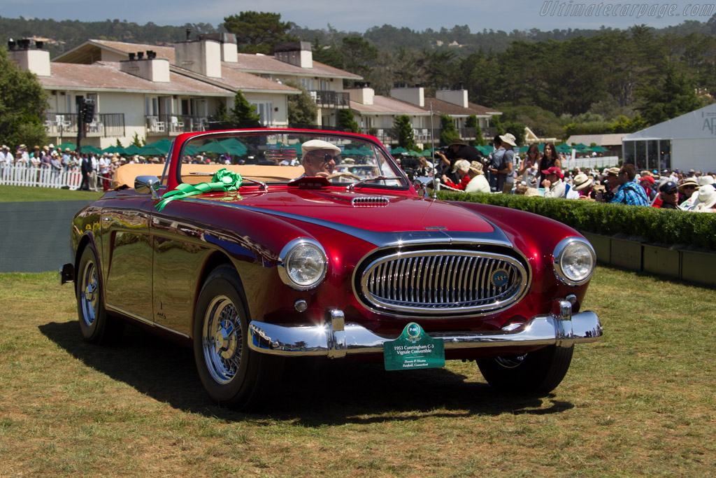 Cunningham C-3 Vignale Continental Cabriolet - Chassis: 5441   - 2015 Pebble Beach Concours d'Elegance