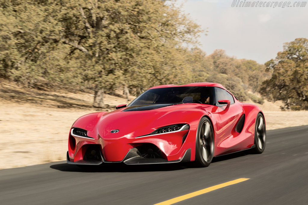 Click here to open the Toyota FT-1 Concept gallery