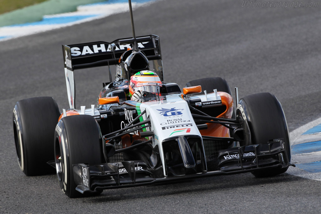 Click here to open the Force India VJM07 Mercedes gallery