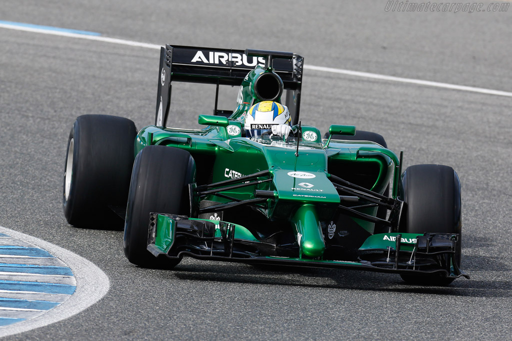 Click here to open the Caterham CT05 Renault gallery