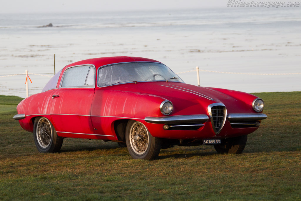 Alfa Romeo 1900C SS Boano Coupe - Chassis: AR1900C 01846   - 2015 Pebble Beach Concours d'Elegance