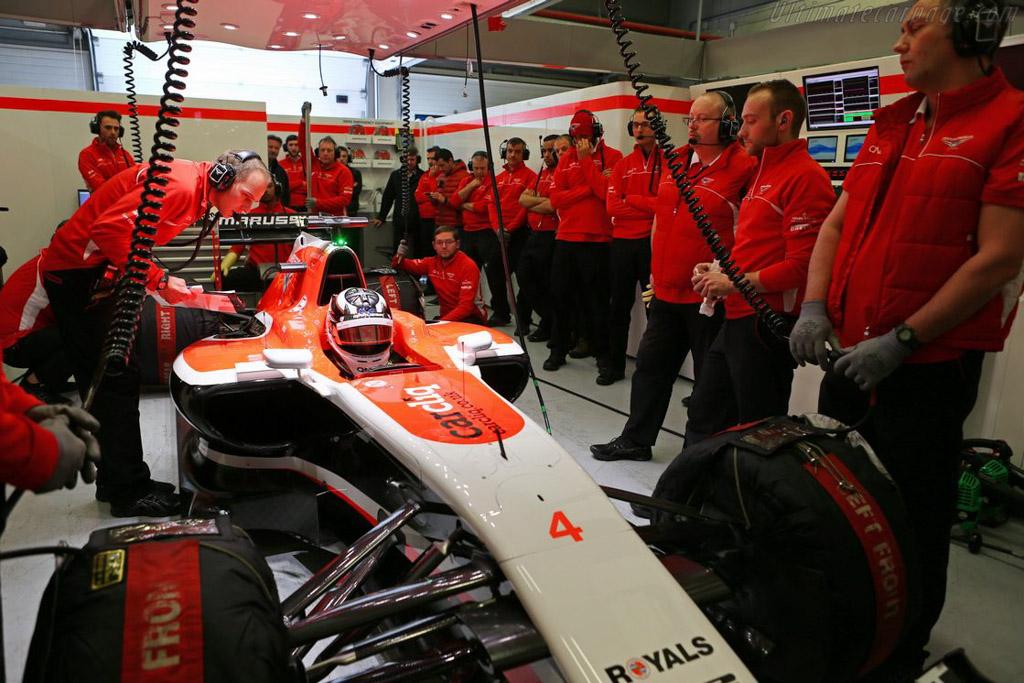 Marussia MR03 Ferrari