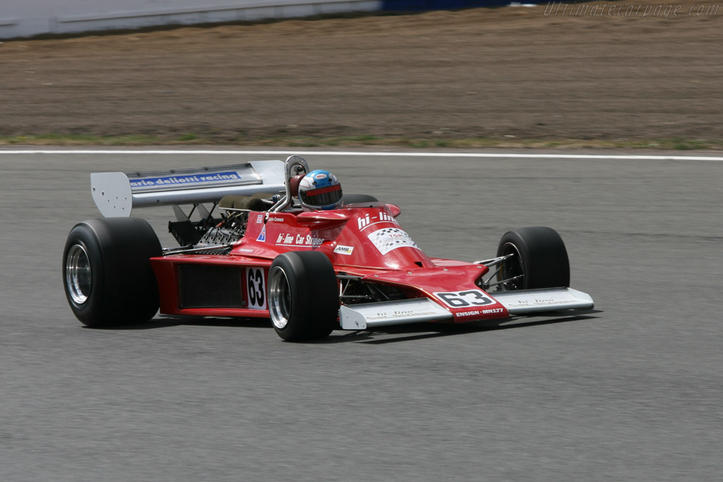 Ensign N177 Cosworth - Chassis: MN09   - 2006 Silverstone Classic