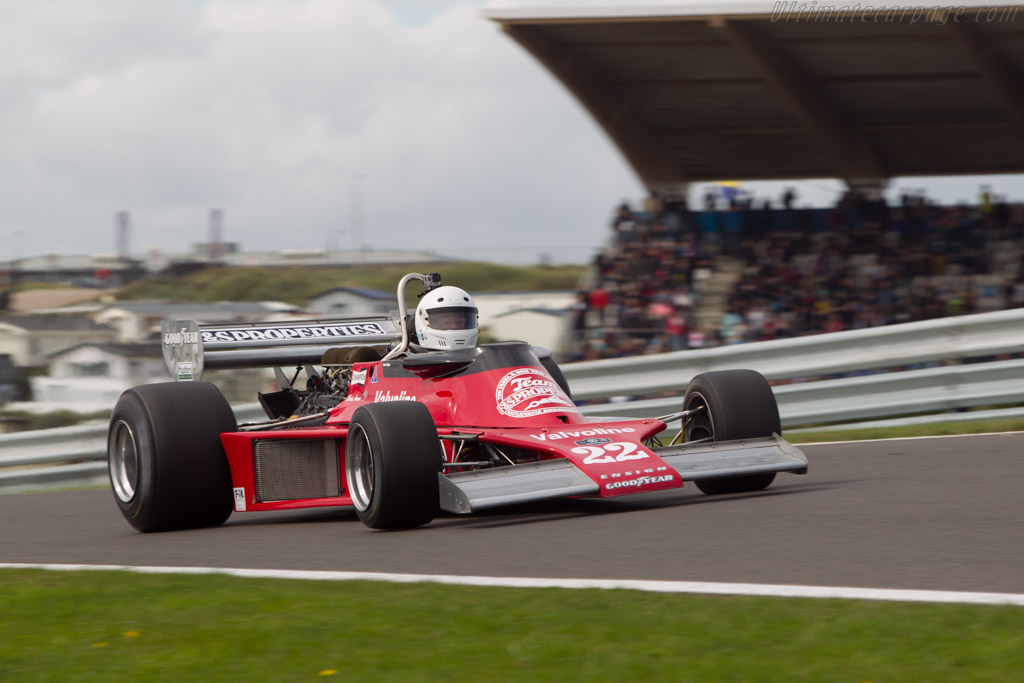 Ensign N177 Cosworth - Chassis: MN09   - 2014 Historic Grand Prix Zandvoort