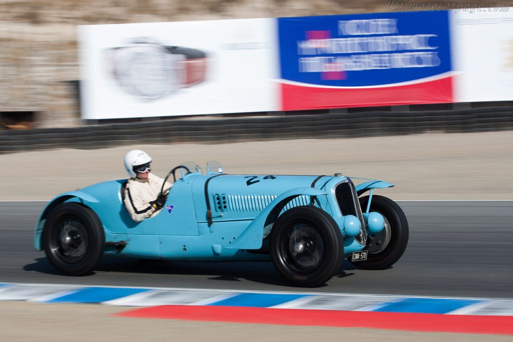 Delahaye 135 S Competition Roadster - Chassis: 47186  - 2009 Monterey Historic Automobile Races