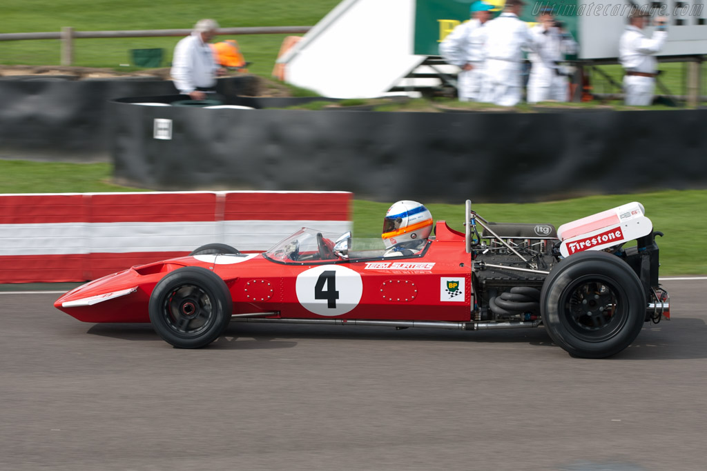 Surtees TS7 Cosworth - Chassis: TS7-01 - Driver: Derek Bell  - 2010 Goodwood Revival