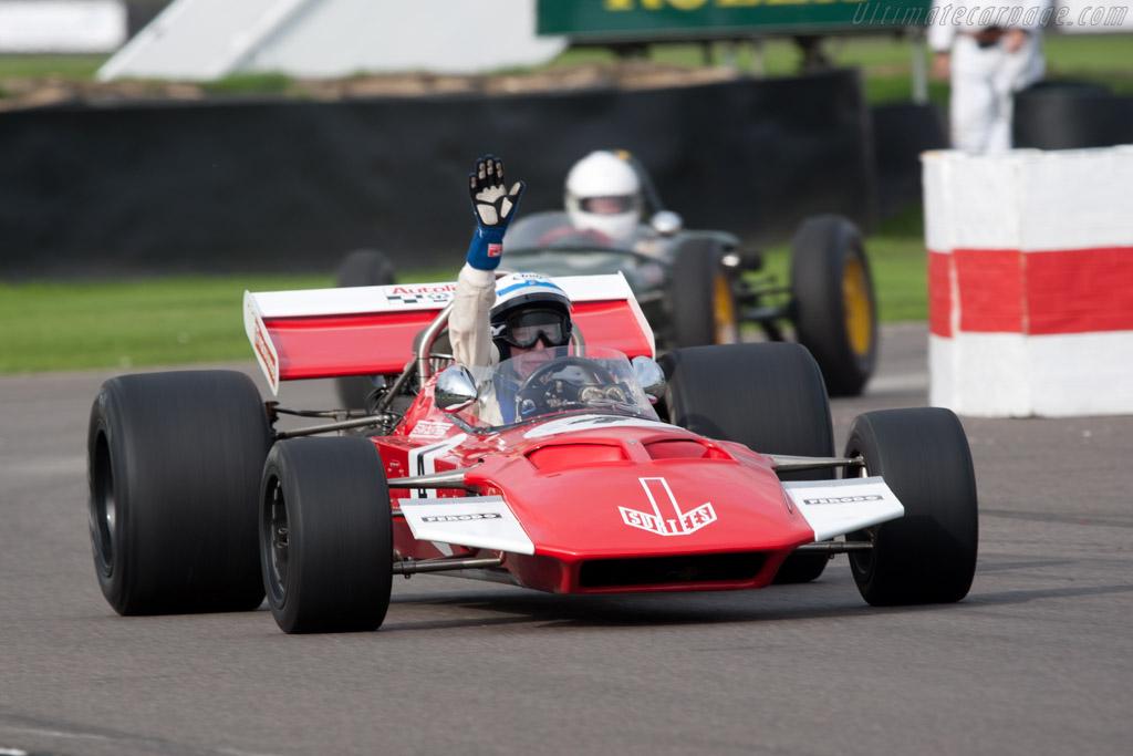 Surtees TS7 Cosworth - Chassis: TS7-01 - Driver: John Surtees  - 2010 Goodwood Revival