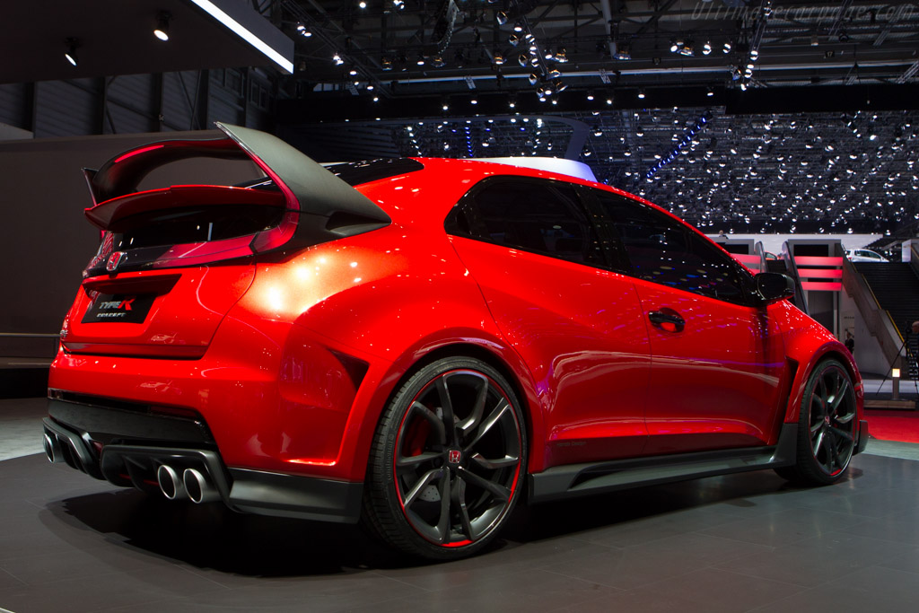 Honda Civic Type R Concept    - 2014 Geneva International Motor Show