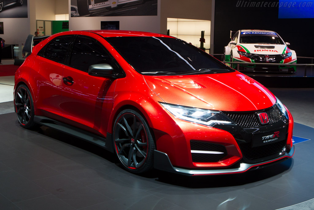 2014 honda civic type r concept images specifications. Black Bedroom Furniture Sets. Home Design Ideas