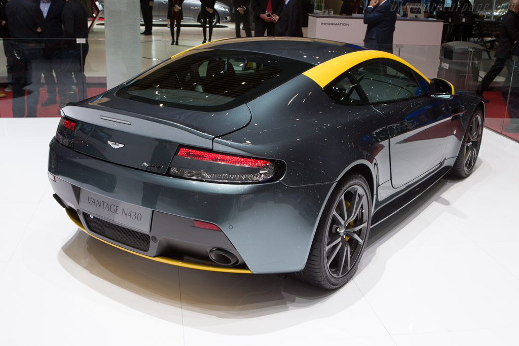 Aston Martin V8 Vantage N430    - 2014 Geneva International Motor Show