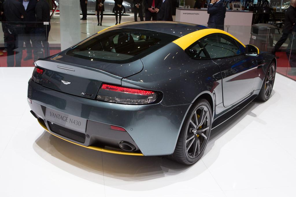 Aston martin v8 vantage n430 2014 geneva international motor show