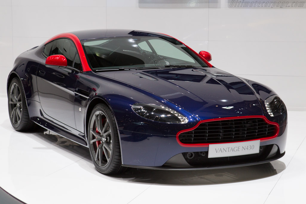 2014 Aston Martin V8 Vantage N430 Images Specifications And
