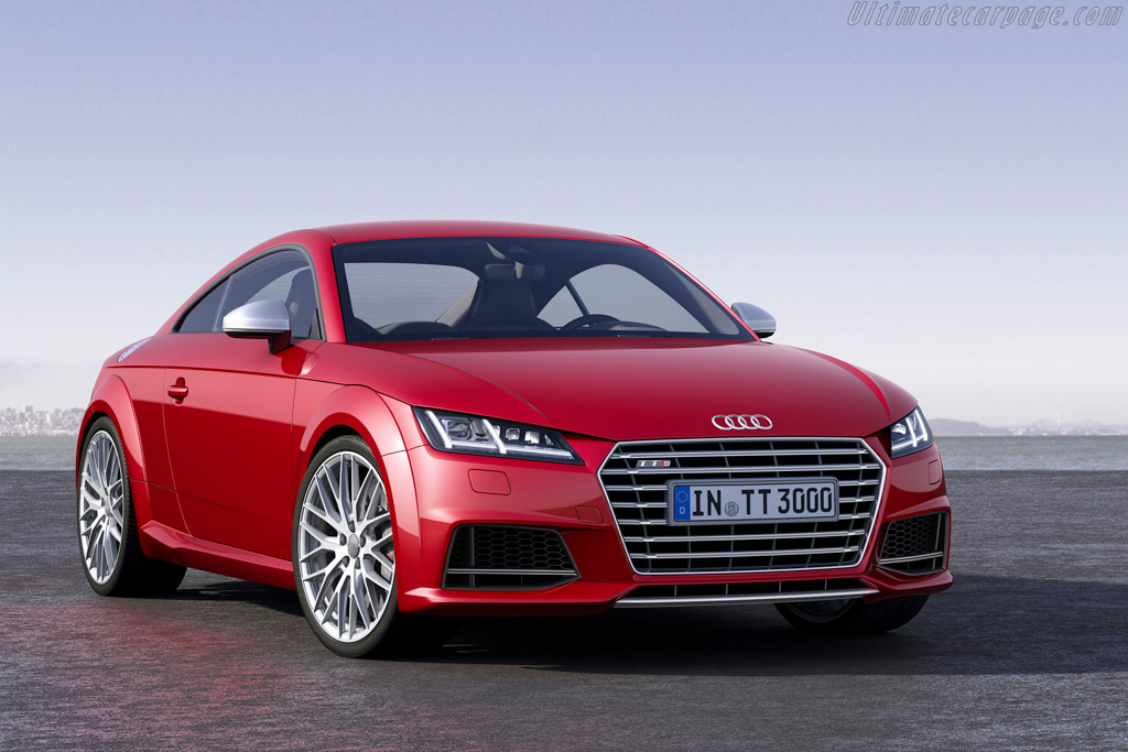 Click here to open the Audi TTS Coupé gallery