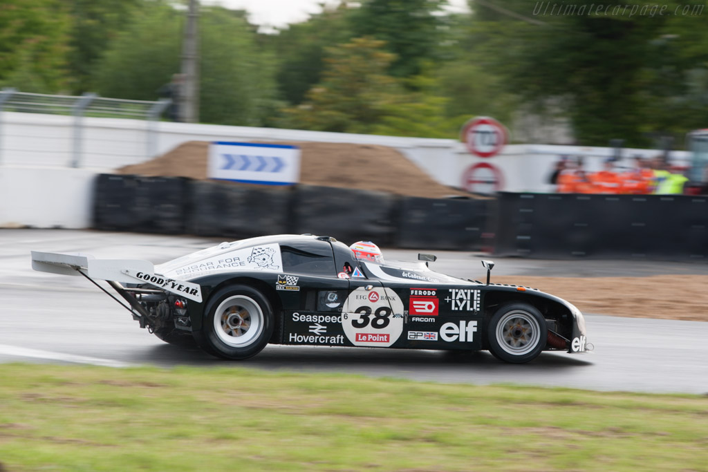 De Cadenet-Lola T380 Cosworth - Chassis: HU1 / LM-2   - 2012 Le Mans Classic