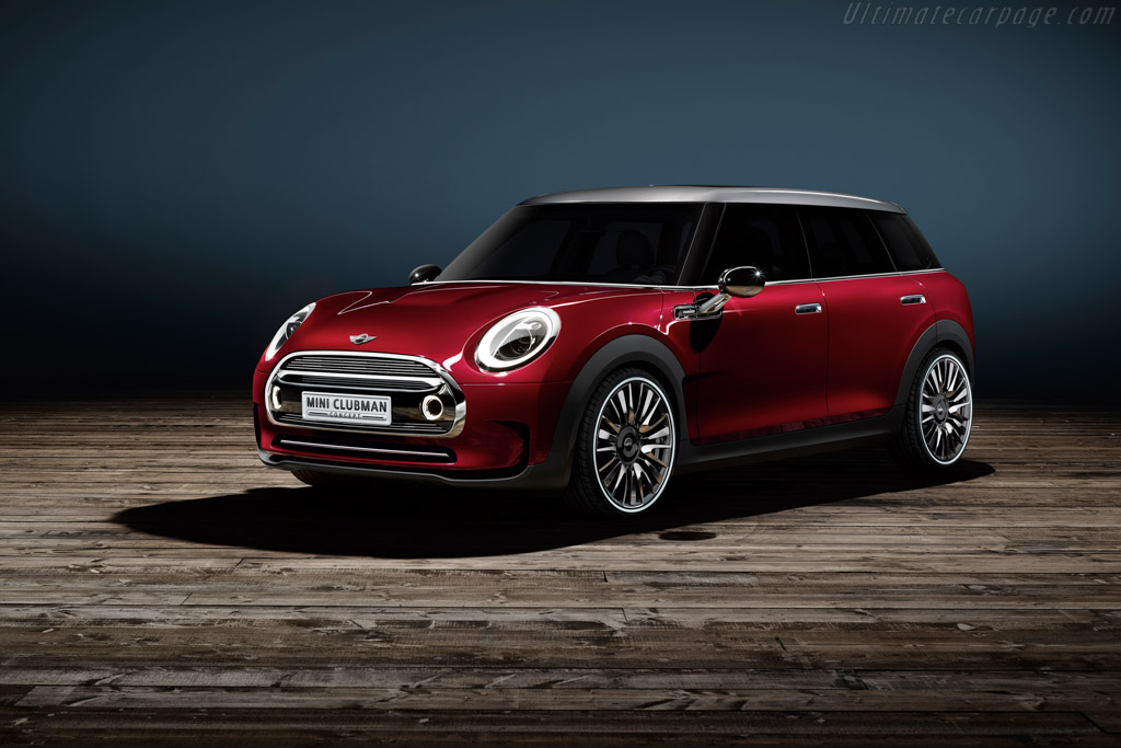 Click here to open the MINI Clubman Concept gallery