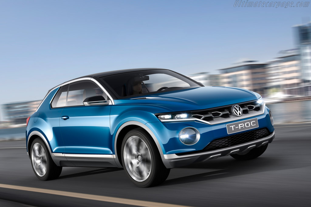 Click here to open the Volkswagen T-Roc Concept gallery