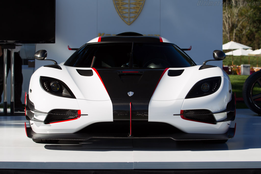 Koenigsegg One:1 - Chassis: 7112   - 2015 The Quail, a Motorsports Gathering