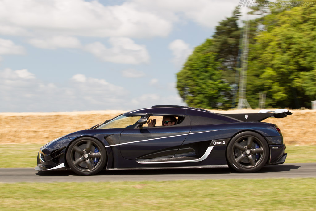 Koenigsegg One:1 - Chassis: 7110   - 2015 Goodwood Festival of Speed
