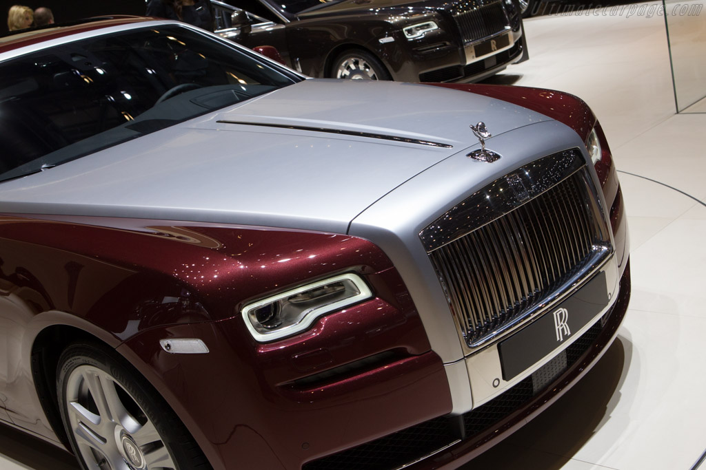 Rolls-Royce Ghost Series II    - 2014 Geneva International Motor Show