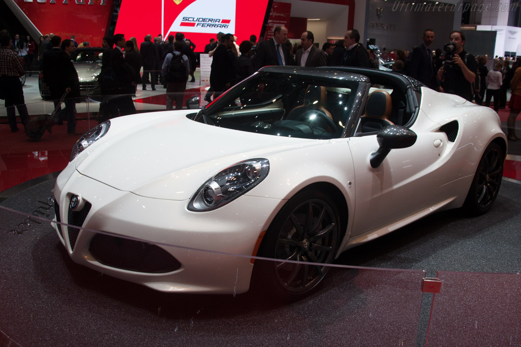 Alfa Romeo 4C Spider    - 2014 Geneva International Motor Show