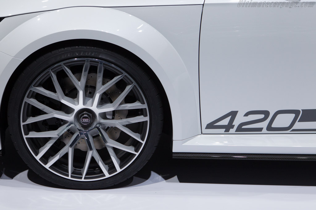 Audi Tt Quattro Sport Concept 2014 Geneva International
