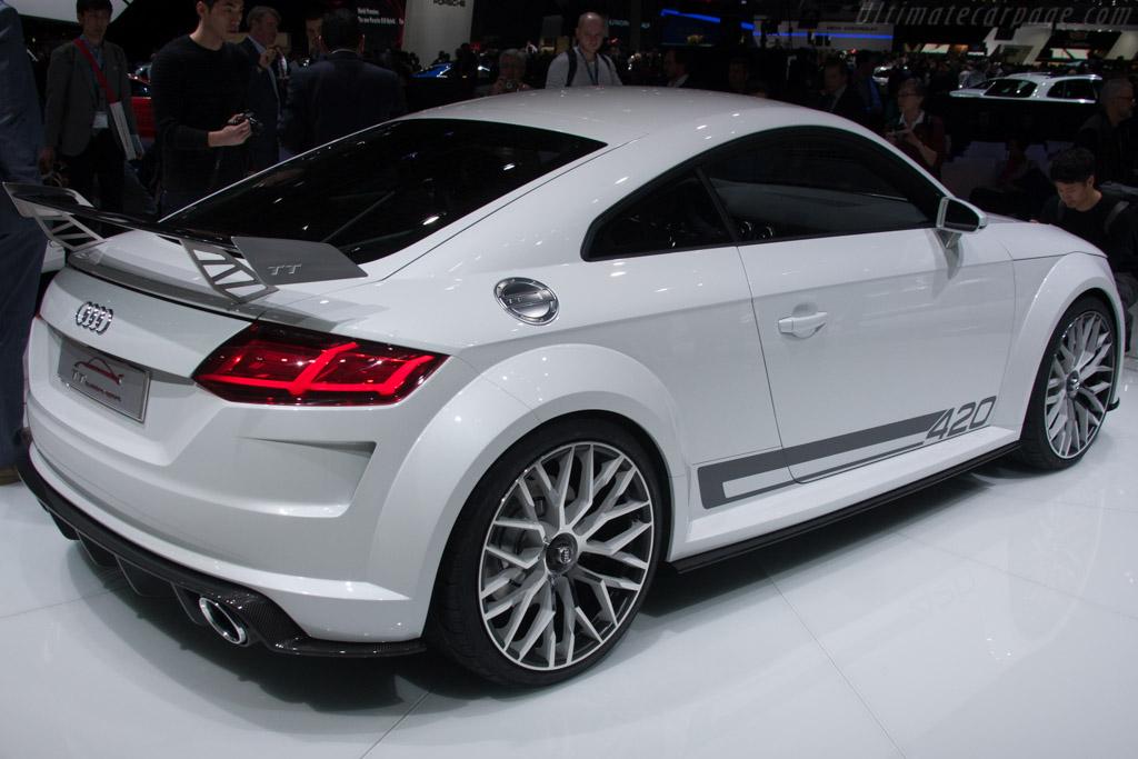 Audi TT quattro sport Concept    - 2014 Geneva International Motor Show