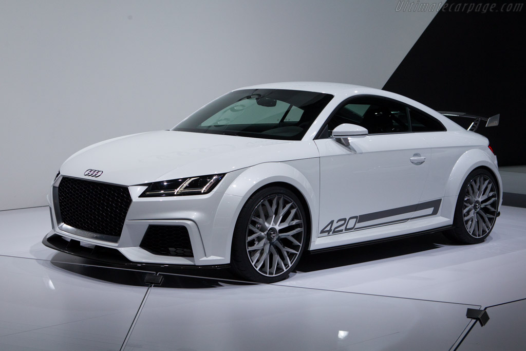 Concours D Elegance >> 2014 Audi TT quattro sport Concept - Images, Specifications and Information