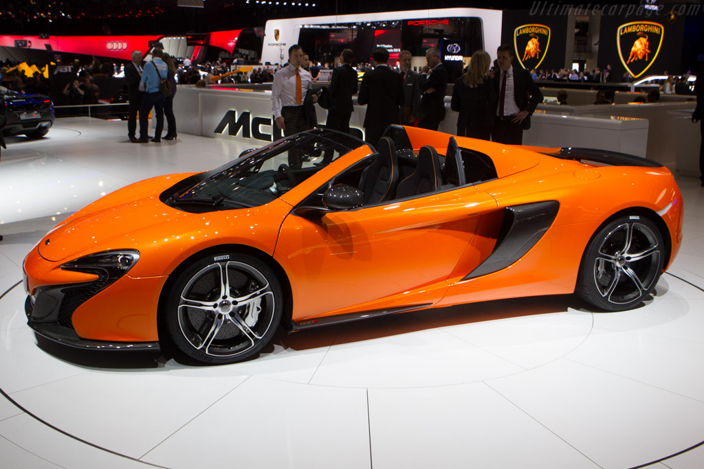 Mclaren 650s Spider 2014 Geneva International Motor Show
