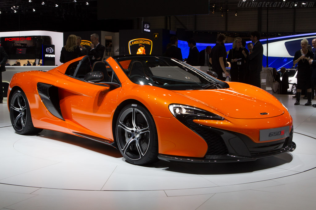 Click here to open the McLaren 650S Spider gallery