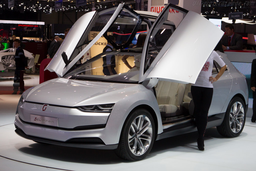 Italdesign Clipper    - 2014 Geneva International Motor Show