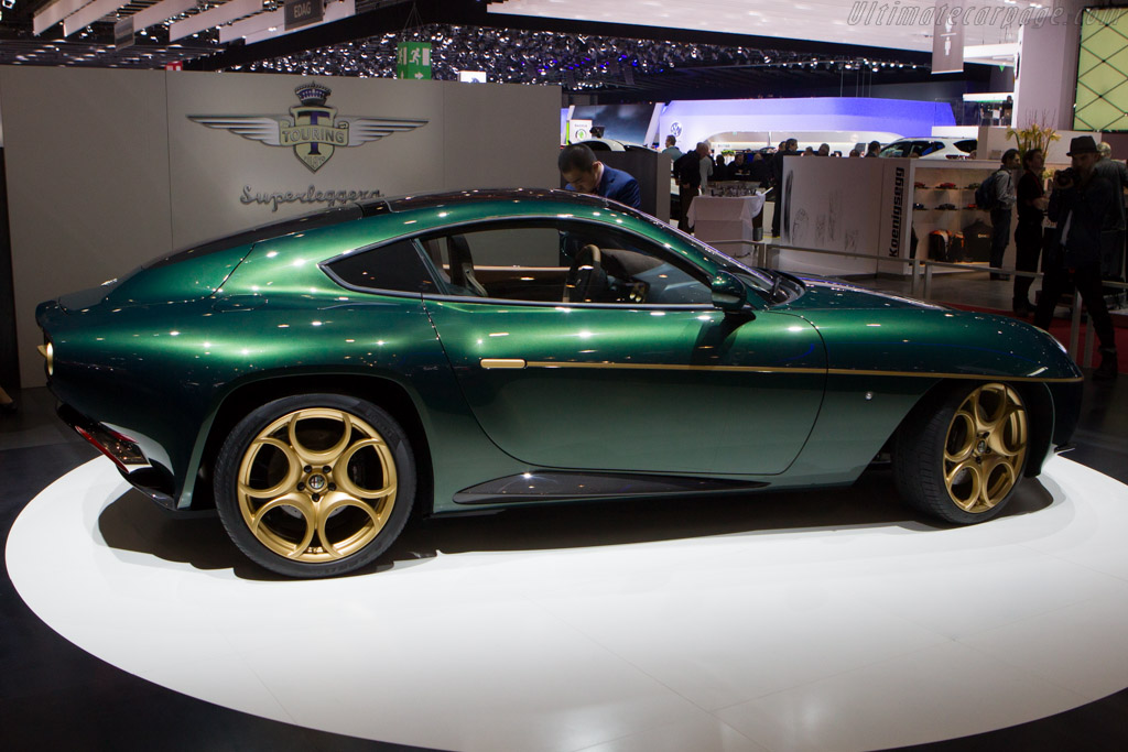 Alfa Romeo Disco Volante By Touring Chassis 03 2014