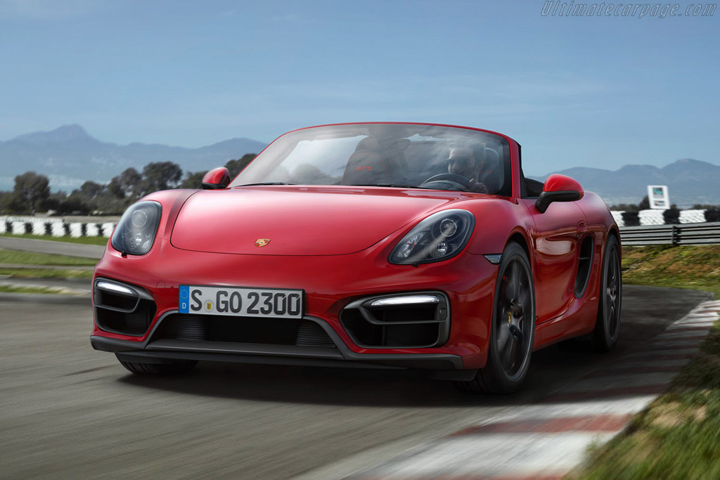 Click here to open the Porsche Boxster GTS gallery