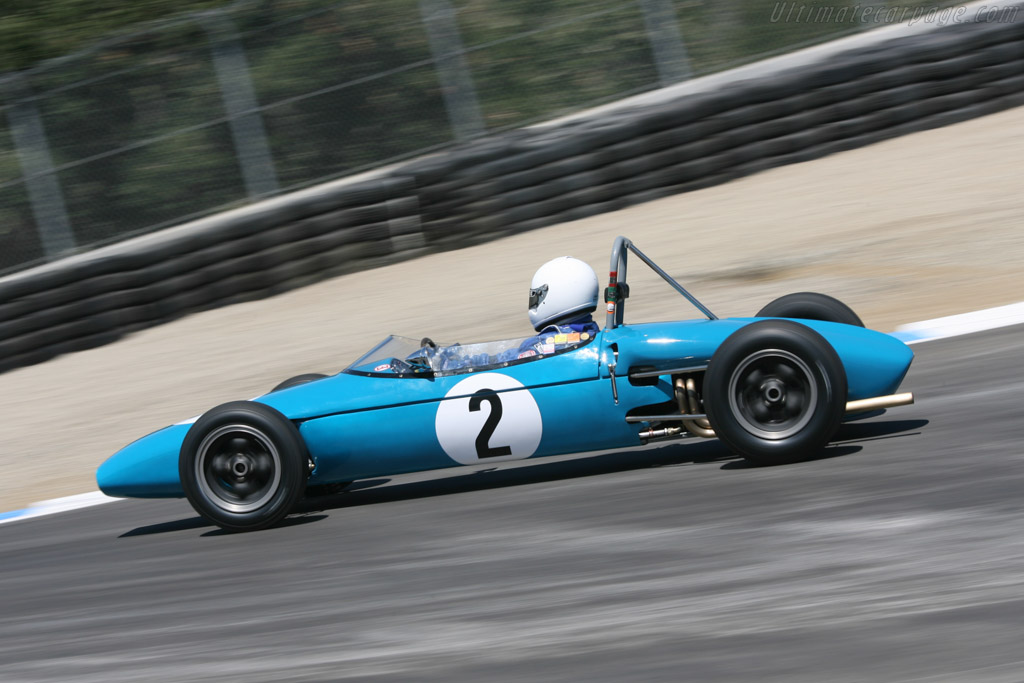 Brabham BT2 Ford - Chassis: FJ-8-62   - 2006 Monterey Historic Automobile Races