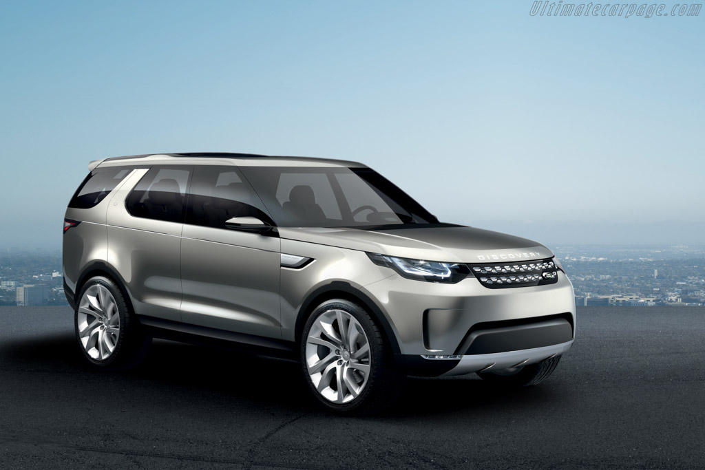 Click here to open the Land Rover Vision Concept gallery