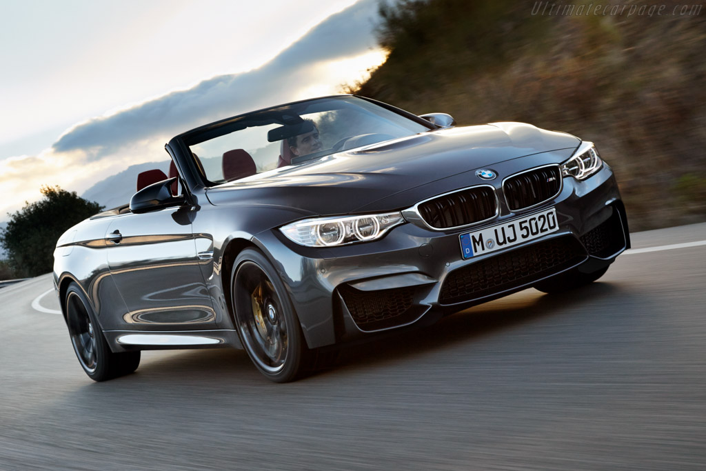 Click here to open the BMW M4 Convertible gallery