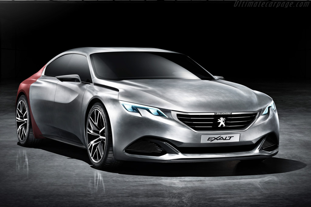 Click here to open the Peugeot Exalt Concept gallery