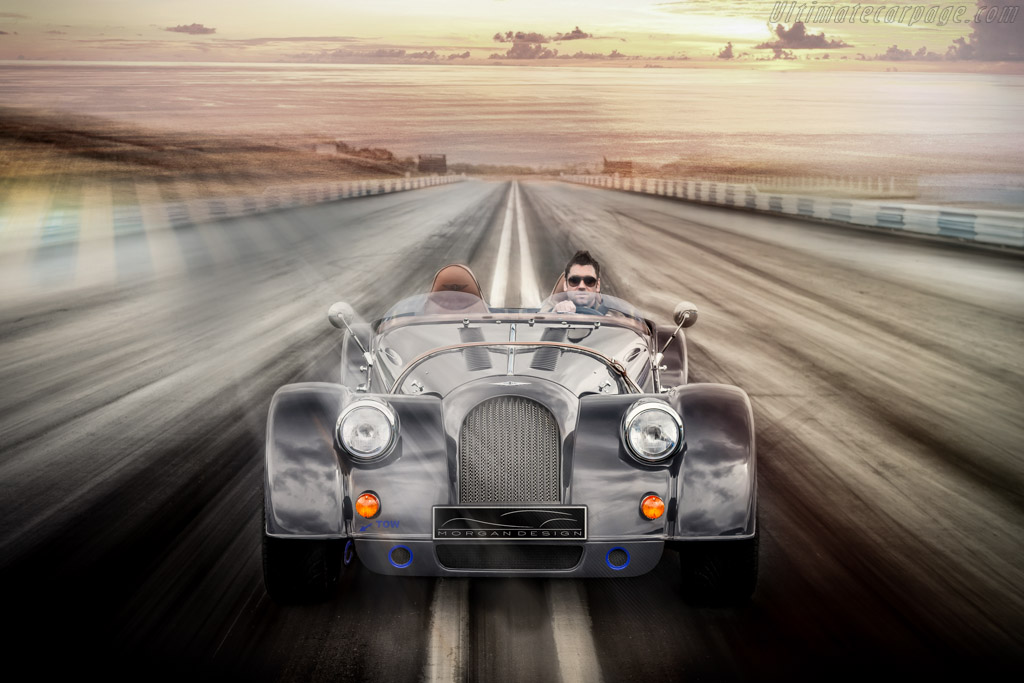 Click here to open the Morgan Plus 8 Speedster gallery