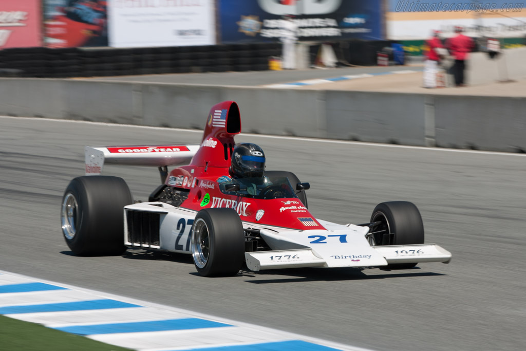 Parnelli VPJ4 Cosworth - Chassis: 001   - 2011 Monterey Motorsports Reunion