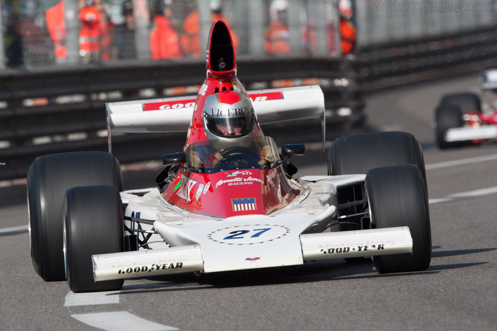 Parnelli VPJ4 Cosworth - Chassis: 001   - 2012 Monaco Historic Grand Prix
