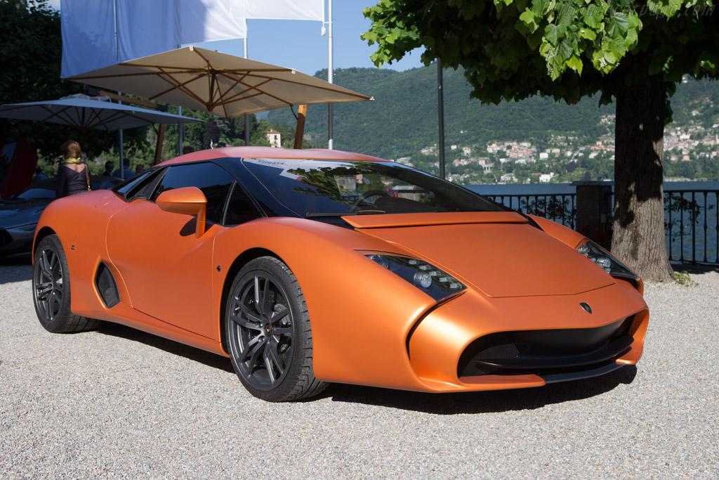 Click here to open the Lamborghini 5-95 Zagato Coupe gallery