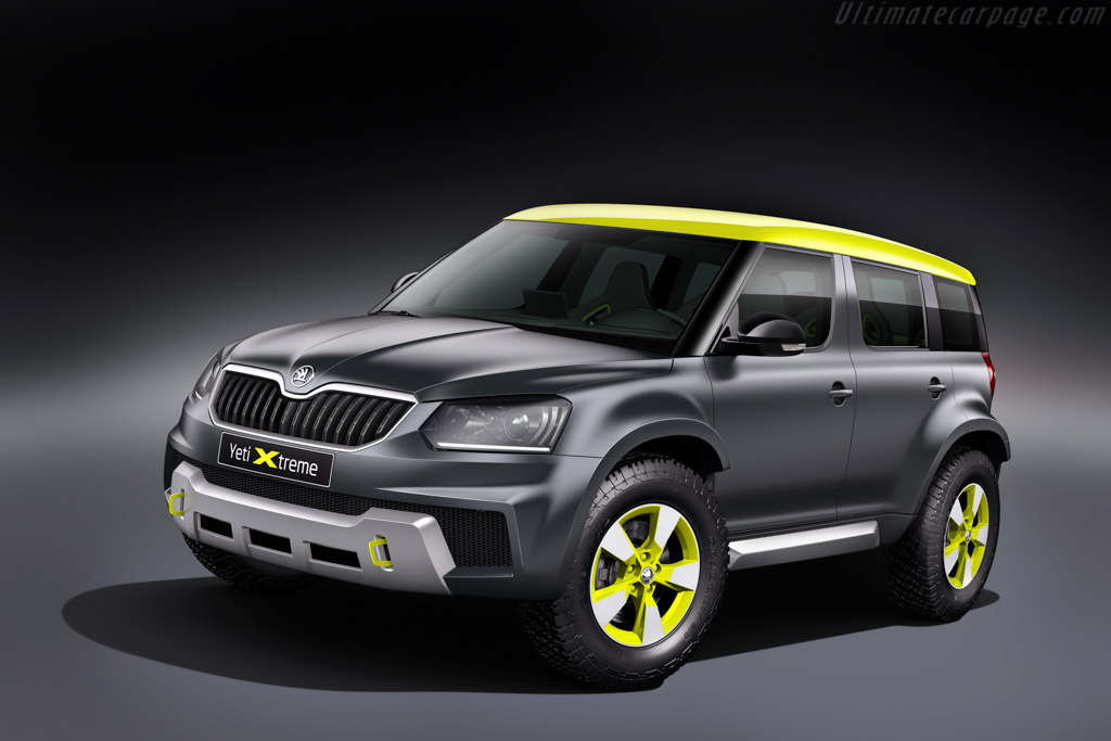 Click here to open the Skoda Yeti Xtreme gallery