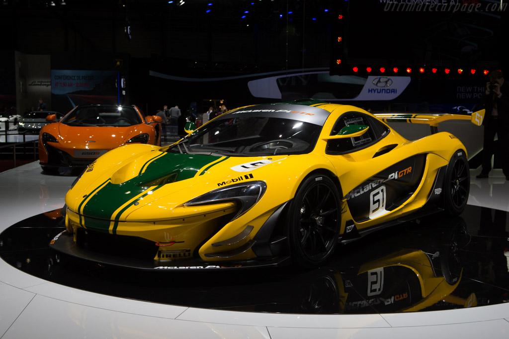 McLaren P1 GTR - Chassis: P1 XP7 GTR   - 2015 Geneva International Motor Show