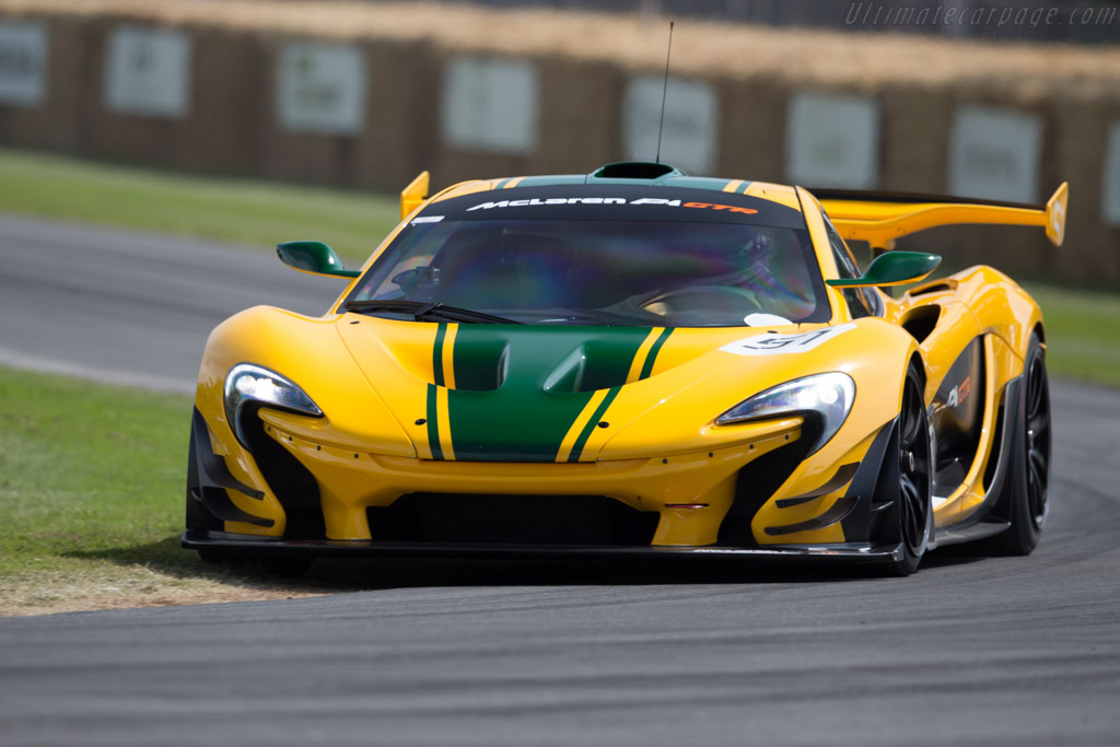 McLaren P1 GTR - Chassis: P1 XP7 GTR   - 2015 Goodwood Festival of Speed