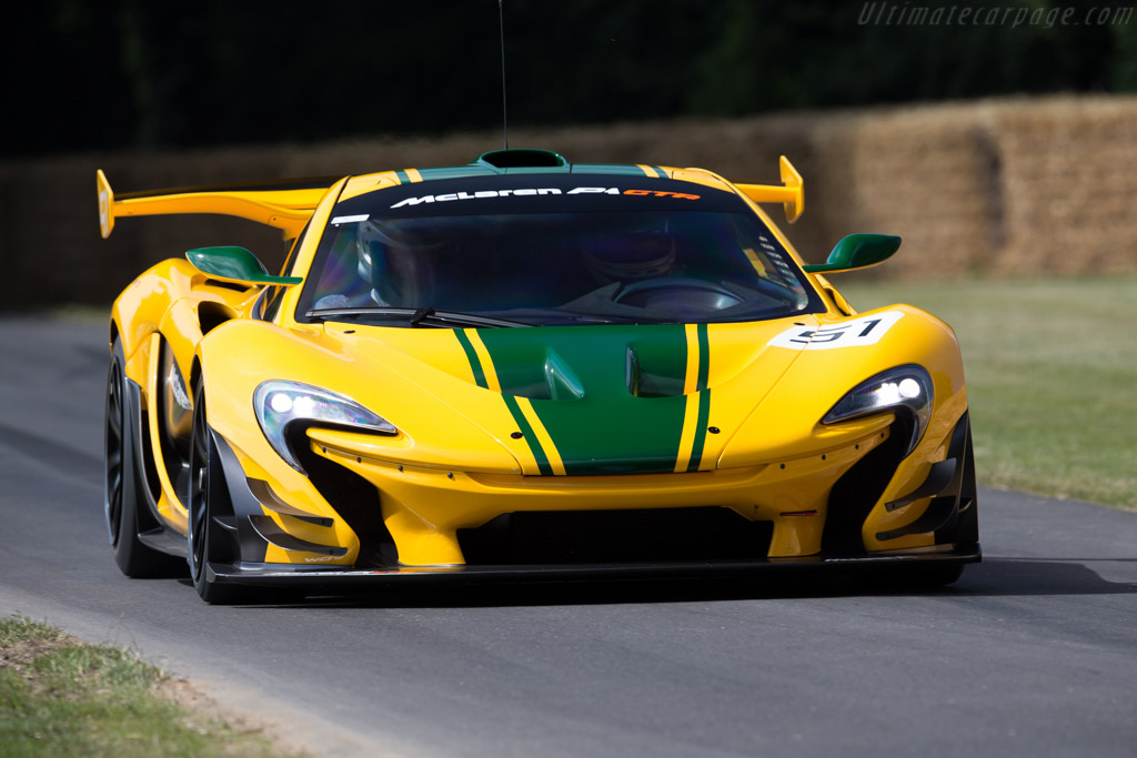 2015 McLaren P1 GTR - Images, Specifications and Information